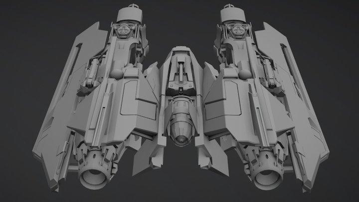 Nevis 3D Model
