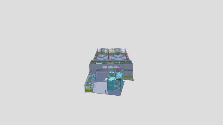 環亞鋼構 3D Model