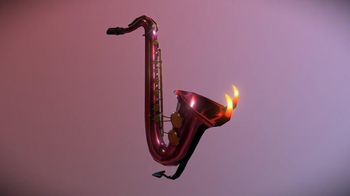 Devil's Saxophone 3D Model