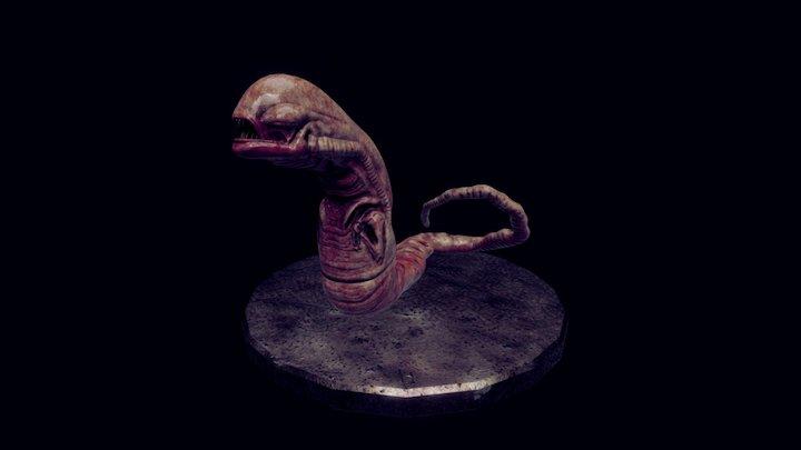 Alien : chestburster 2 3D Model