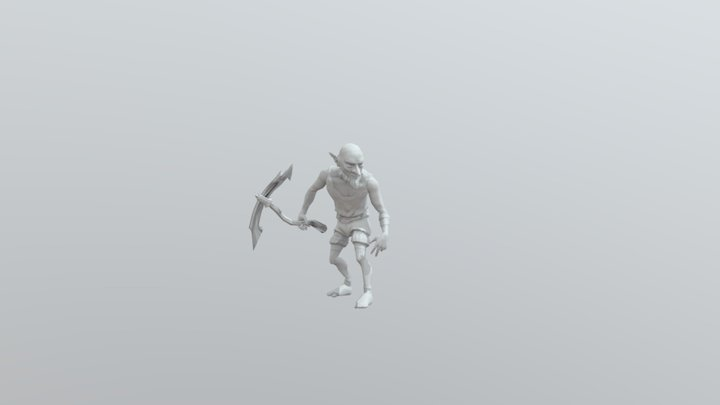 IKITO_ANIMATION_COMBOT (With a weapon) 3D Model
