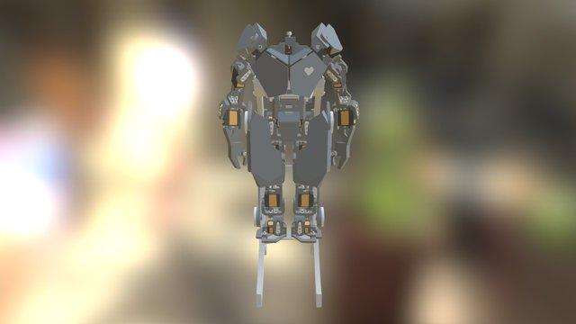 Humanoid Prototype 1 3D Model