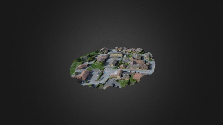 Anthy sur Léman 3D Model