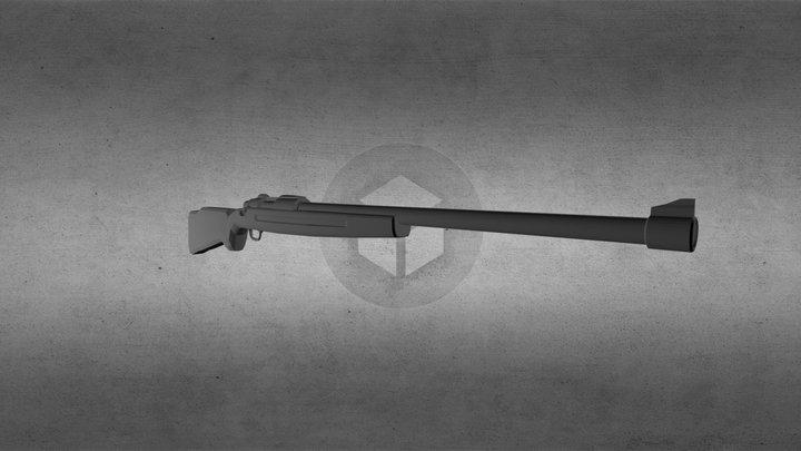 Hunter Rifle 3D Model