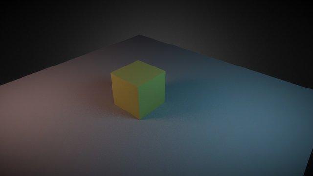 Blender to Sketchfab Test 3D Model