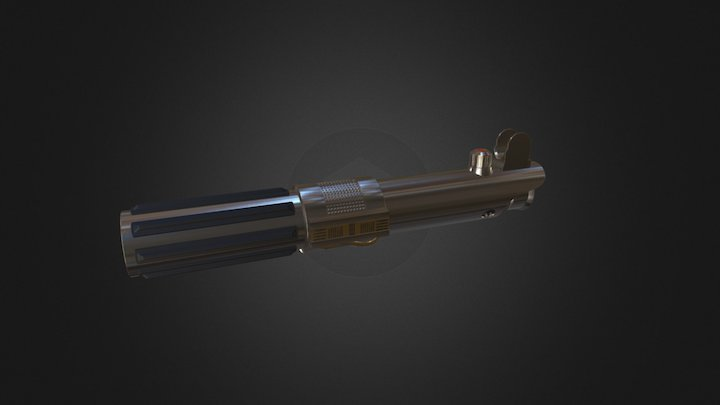 Anakin Skywalker's second lightsaber 3D Model