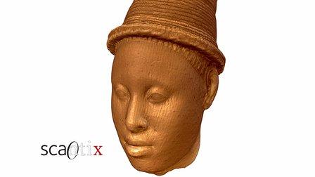 Ife terracotta head, Nigeria 3D Model