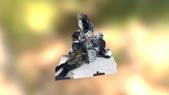 Powder Day 3D Model