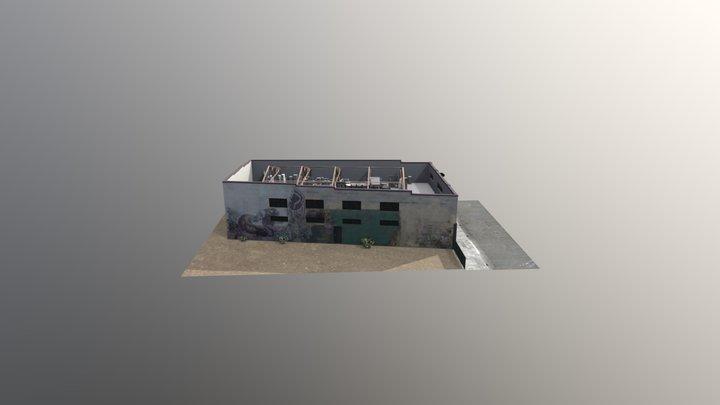 Ghost Ship Warehouse 3D Model