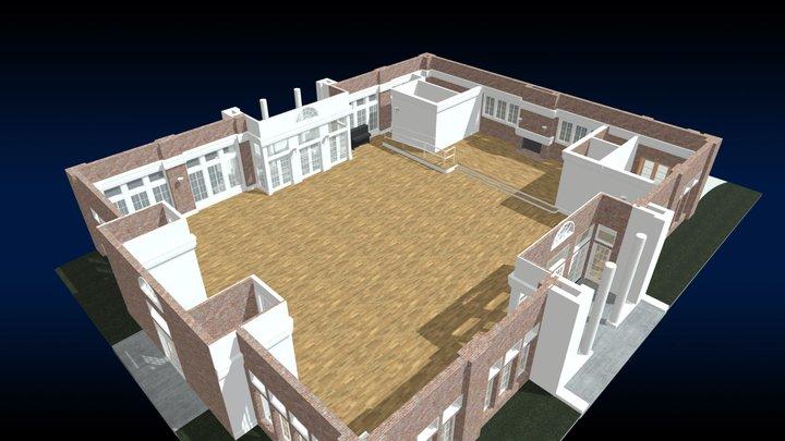 Prospect Park Picnic House 3D Model