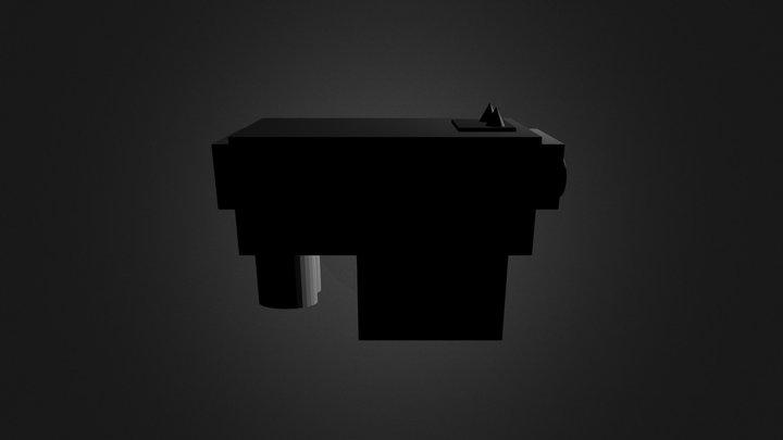 Storm Bolter 3D Model