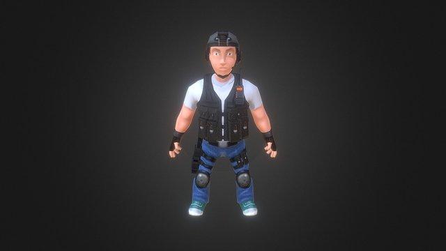 Mini Swat 1 0 3D Model