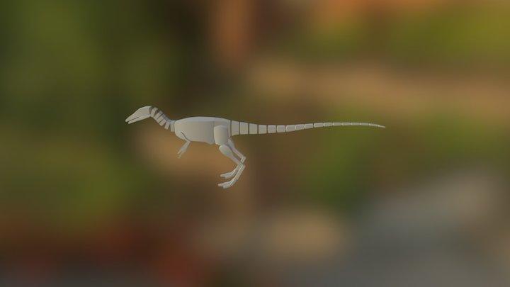 Compsognathus Idle 3D Model