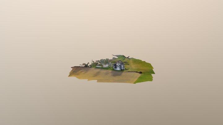 Abbaye de Boschaud 3D Model