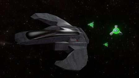 R43 Spaceship 3D Model