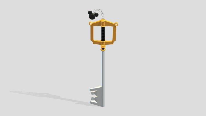 Keyblade - (Kingdom Hearts) 3D Model