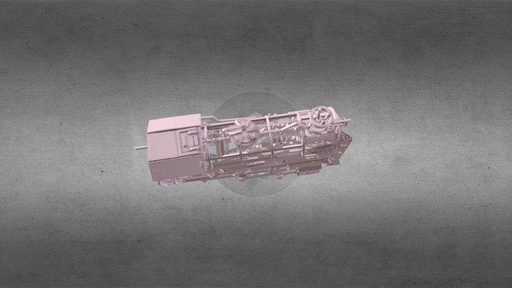 HypeTrain 3D Model
