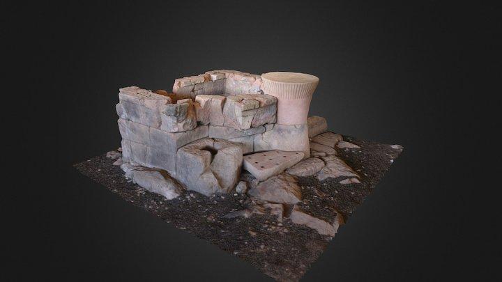 Su Monte - Sorradile (OR) 3D Model