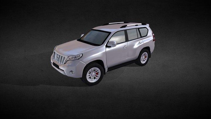 Land Cruiser (LowPoly) 3D Model