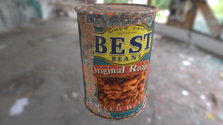 Best Baked Beans Can 3D Model