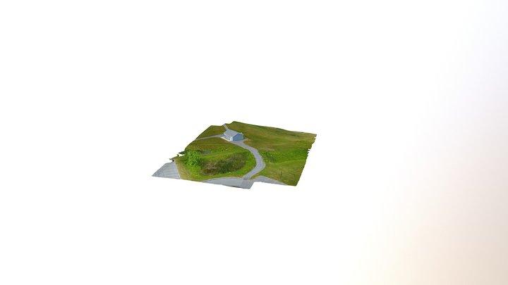 Hamilton College Field 3D Model