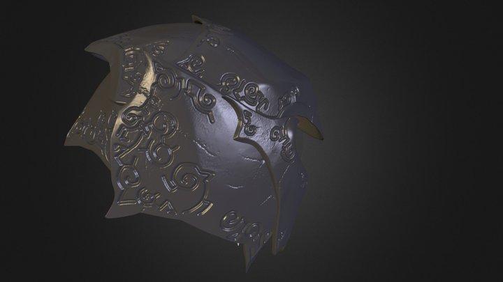 Helmet Damned Power 3D Model