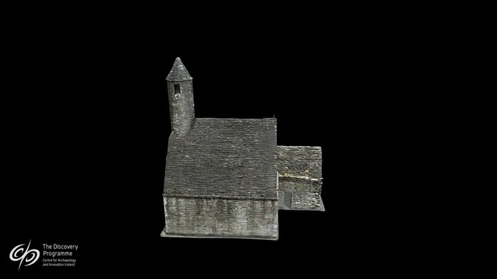 St. Kevin's Church 3D Model
