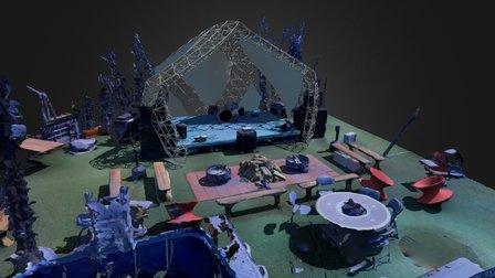 Airstream Park 3D Model