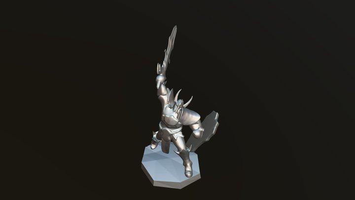 Model #6 Dark Knight 3D Model