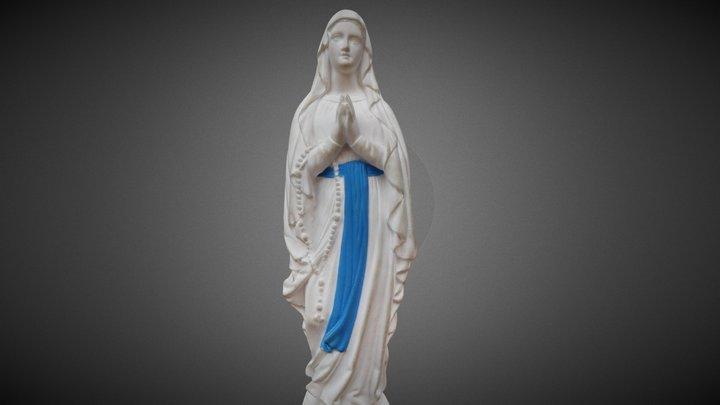 Notre-Dame de Lourdes 3D Model