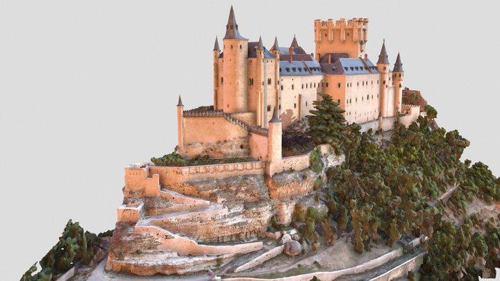 Alcázar de Segovia, 12th century (Spain) 3D Model