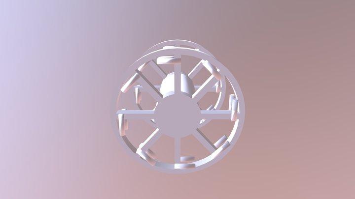 Panjandrum 3D Model