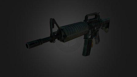 AR-15 FPS Model 3D Model