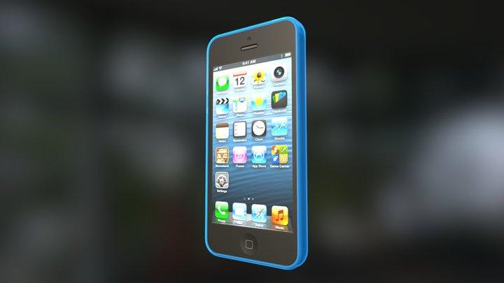 I-Phone Cover Test 3D Model