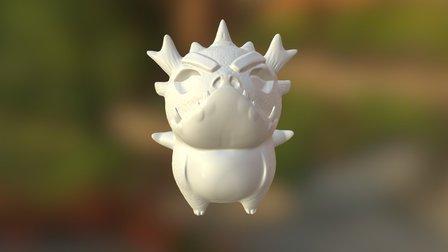 PM3D2 Dino 3D Model
