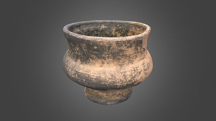 Pot of the 17-th century 3D Model