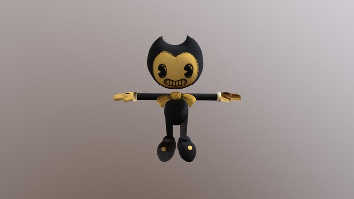 Bendy Remade 3D Model