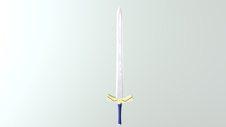 Excalibur 3D Model