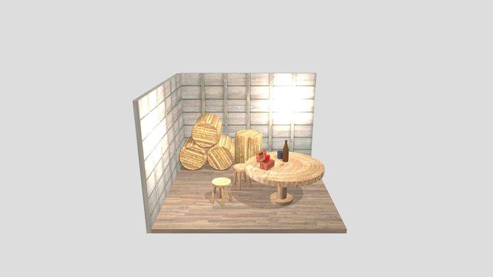 Tavern Showcase 3D Model