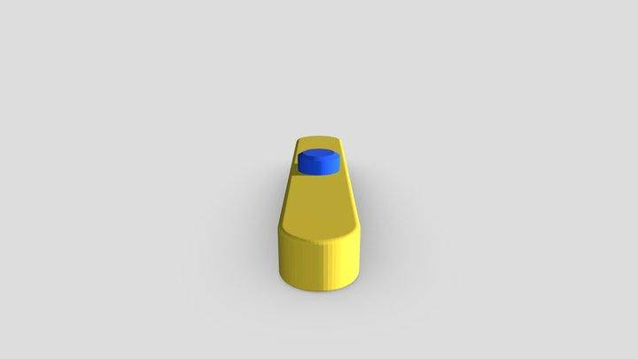 Boop Paddle 3D Model