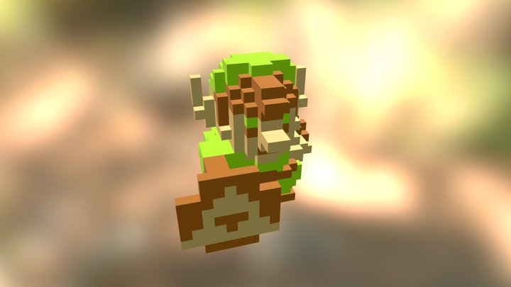 Link - The Legend of Zelda 3D Model