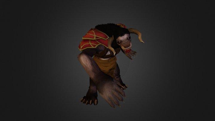 Wolf Final 3D Model