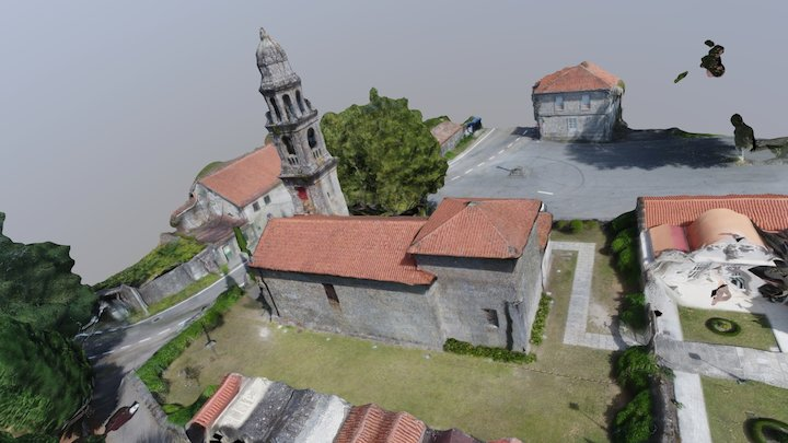 Santa María de Xeve. Pontevedra 3D Model