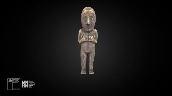 Figura femenina del cerro El Plomo 3D Model