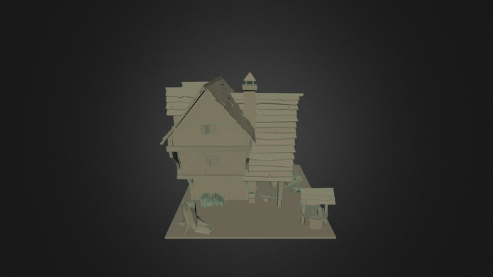 Blacksmith's Forge - game environment 3D Model