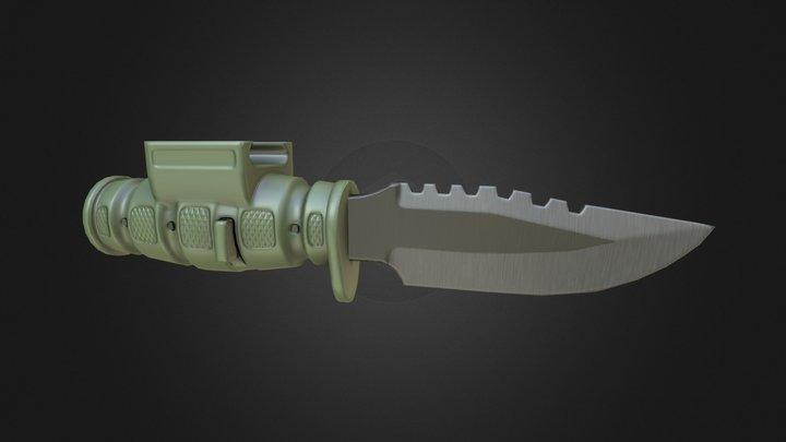 [UV-REL] Laser Lyte Pistol Bayonet 3D Model