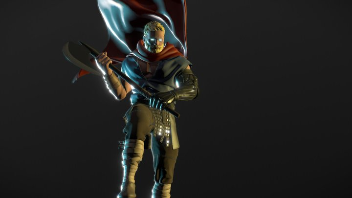 Unworthy Thor 3D Model
