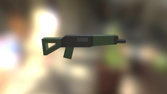 SIG 553 - Patch 3.3 3D Model