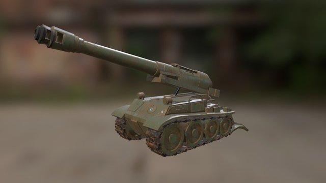 F3 Howitzer 3D Model