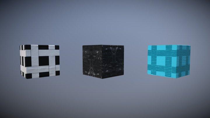 Sample Cubes 3D Model